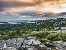 After the Rain, Cadillac Mountain Royalty Free Stock Photos