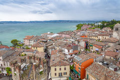 Rain closing to Sirmione Royalty Free Stock Photos