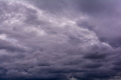 Rain cloud. Royalty Free Stock Images