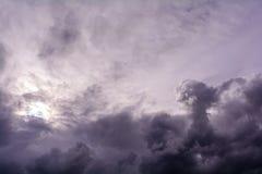 Rain cloud. Stock Photo