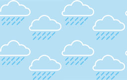 Rain Cloud Pattern Stock Image