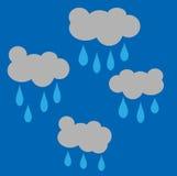 Rain clouds Royalty Free Stock Photos