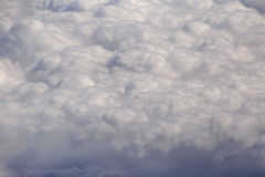 Rain clouds from aircraft Stock Photography