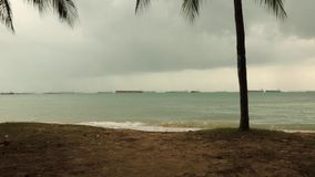 Rain clouds coming stock video