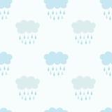Rain clouds pattern Stock Photography