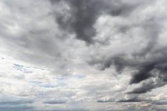 Rain clouds before the rain Stock Photos