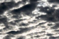 Rain clouds before raining in rainy season. Stock Images