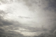 Rain clouds on the sky, Dark cloud, rain cloud, stormy before ra Stock Photo