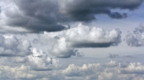 Rain clouds in summer sky Stock Photography