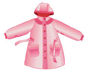 Rain coat Royalty Free Stock Photos