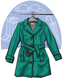 Rain coat Royalty Free Stock Photo