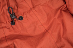 Rain Coat with Adjustment Cord Royalty Free Stock Photo