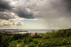 Rain is coming Royalty Free Stock Photos