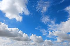 Rain is coming during the sunny day. royalty free stock images