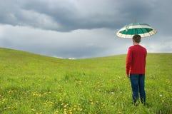 Rain conception Stock Photo