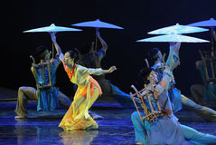 The rain curve-The dance drama The legend of the Condor Heroes Royalty Free Stock Photo