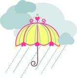 Rain Day Royalty Free Stock Photos