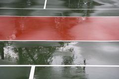 Rain delay Royalty Free Stock Photos