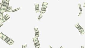 Rain 100 dollar bills