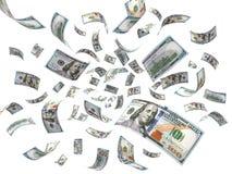 Rain from Dollars Stock Photos