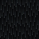 Rain of dots. Cosmic rain of halftone dots (seamless background Royalty Free Stock Photos