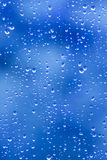 Rain drop blues Royalty Free Stock Images