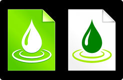 Free Rain Drop On Paper Set Royalty Free Stock Photography - 36611697