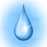 Rain Drop Shows Liquid Wet And Water Royalty Free Stock Images