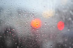 Rain and Droplets Royalty Free Stock Photos