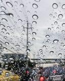 Rain droppe Arkivbild