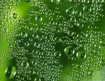 Rain drops. Rain-drops on the glass. Macro royalty free stock photo