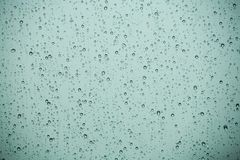 Rain Drops. On the glass royalty free stock photos