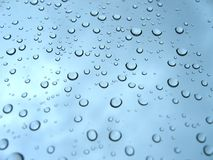 Rain drops. Bubbles stock image