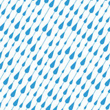 Vector rain drops Royalty Free Stock Photos