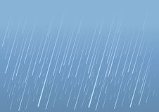 Rain drops background.Vector image of wet day Stock Photos