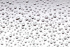 Rain drops on the glass, background. water drop background texture.  stock photo