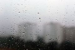 Free Rain Drops On A Window Royalty Free Stock Photography - 116123957
