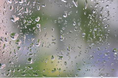 Free Rain Drops On Window Royalty Free Stock Photo - 27447715