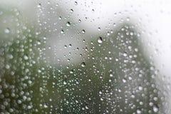 Free Rain Drops On Window Glasses Surface Royalty Free Stock Photos - 122848298