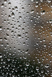 Rain drops over the window royalty free stock images