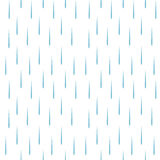 Rain drops pattern vector seamless Stock Photos