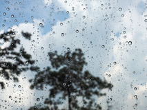 Rain drops. Rain, raindrops, rain drops, slippery floors, weather rain, rainy season, traffic jams, rainy weather Stock Photo