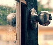 Rain drops rainy day Royalty Free Stock Photo