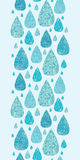 Rain drops textured seamless pattern background Stock Photos