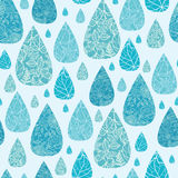 Rain drops textured seamless pattern background Royalty Free Stock Photo