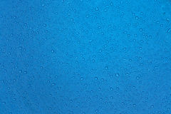 Rain drops on tissue Royalty Free Stock Image