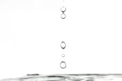 Rain of drops Stock Photography
