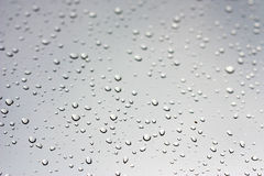 Rain drops on window Stock Image