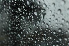 Rain Drops on window Stock Photos