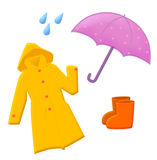 Rain equipment Royalty Free Stock Photos